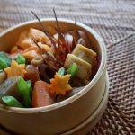冬のごちそう、根菜たっぷり♪<br>2016年11月22日のお弁当