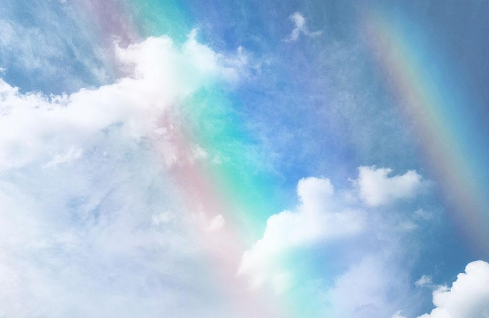 虹のふもと   ~ 夏至 ~